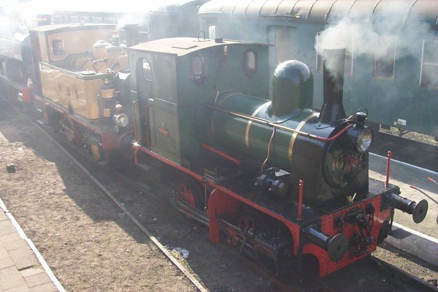 Tubize steam loc